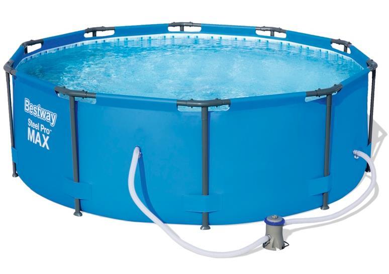 305*100 Bestway каркасный бассейн с картриджным фильтром