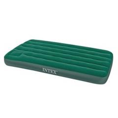 Кровать INTEX Стандарт DELUXE, Twin, флок, встроен.насос (99*191*22) ( под заказ)