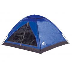 Палатка Моби 3 синяя/олива