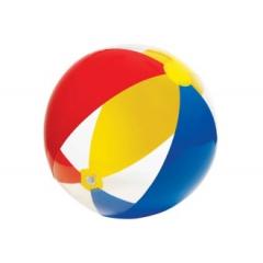 Мяч INTEX с рисунком, прозрачный, 61 см