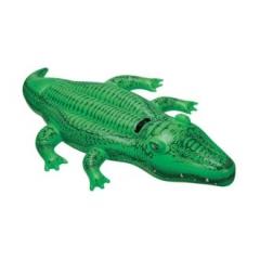 Игрушка INTEX для катания по воде Крокодил (203x114)