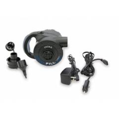 Насос INTEX электрический с аккумулятором 220V, 12V (автомобильный)