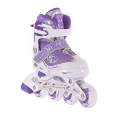 Роликовые коньки Gloss violet