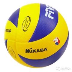 Мяч волейбольный Mikasa 200 MVA