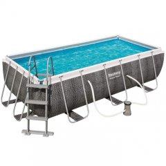 412*201*122 см (ротанг)Bestway  каркасный бассейн(нет в наличии)