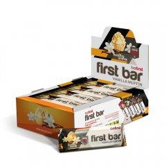 First bar (протеиновый батончик) 1 шт по 40 гр (ванильный маффин;клубничный маффин;тирамису;шоколад-мокко)