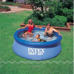 244*76см Надувной бассейн INTEX круглый Easy Set (нет в наличии)