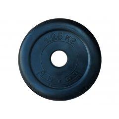 26мм Диск обрезиненный Антат,  вес 1,25 - 25 кг