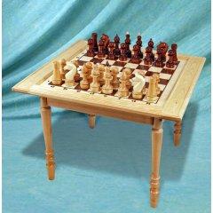 Стол-доска сувенирный+шахматы+шашки