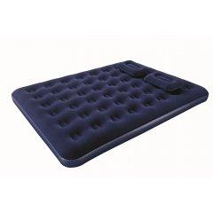 152х203х22см с подушками и насосом, до 300кг Надувной матрас