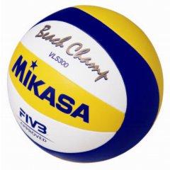 Мяч для пляжного волейбола Mikasa VLS300 Beach Champ, размер 5,