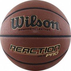 Мяч баскетбольный WILSON Reaction PRO (размер 6)