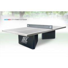 City Power Outdoor - бетонный антивандальный теннисный стол для открытых площадок.