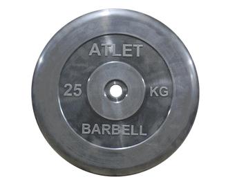 26мм Диски обрезиненные  Atlet