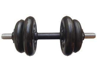 Гантель разборная готовая весом 7,5 кг (2 х 1,25 кг + 2 х 2,5 кг)
