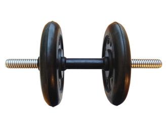 Гантель разборная готовая весом 10 кг (2 х 5 кг)