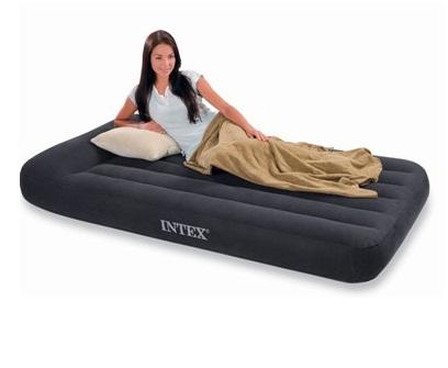 Кровать INTEX Стандарт с подголовником, Twin, флок (99*191*30) ( под заказ)