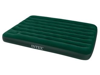 Кровать INTEX Стандарт DELUXE, Full, флок, встроенный насос