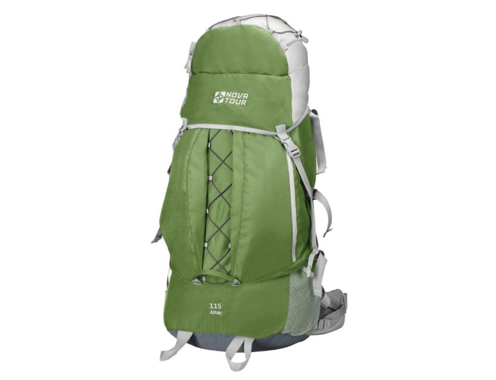 Рюкзак Алтай 115 олива/светло-серый