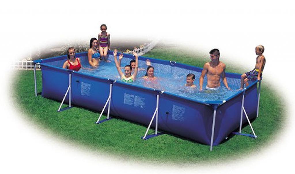 450 х 220 х 85 см INTEX RECTANGULAR FRAME бассейн