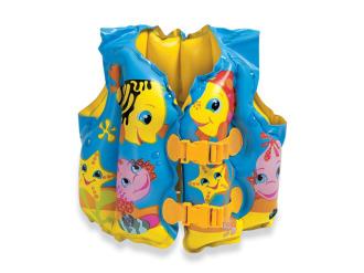 Жилет плавательный детский INTEX Веселые Рыбки(нет в наличии)