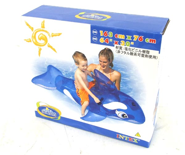 Игрушка INTEX для катания по воде Касатка (163х76)