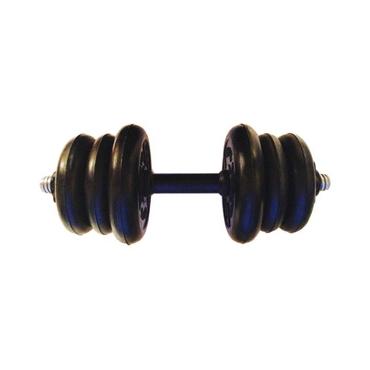 Гантель разборная готовая весом 10 кг (2 х 2,5 кг + 4 х 1,25 кг)