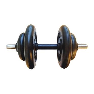 Гантель разборная готовая весом 12,5 кг (2 х 5 кг + 2 х 1,25 кг)
