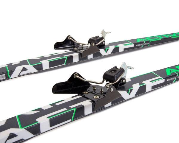 Лыжные комплекты крепление 75мм
