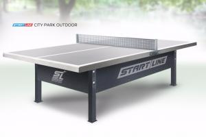 City Park Outdoor - сверхпрочный антивандальный стол для игры на открытых площадках