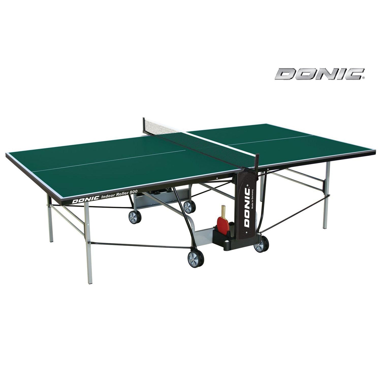 Donic Indoor Roller 800 зеленый теннисный стол