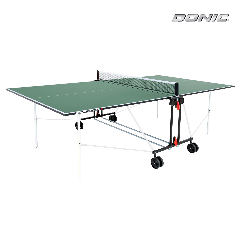 Donic Indoor Roller SUN зеленый теннисный стол