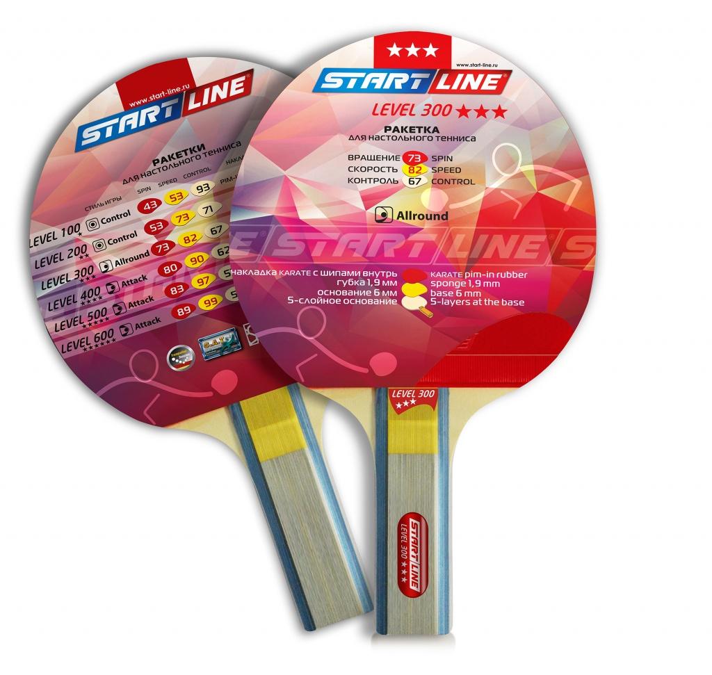 Level 300 Ракетка для настольного тенниса
