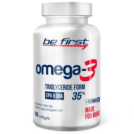 Omega-3 + витамин Е (омега-3 35% ПНЖК + витамин Е) 90 гелевых капсул