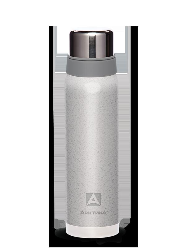 Термос Арктика (0,9 литра) с узким горлом американский дизайн, серебристый