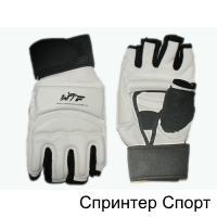 Перчатки для тхеквондо с напульсником на липучке