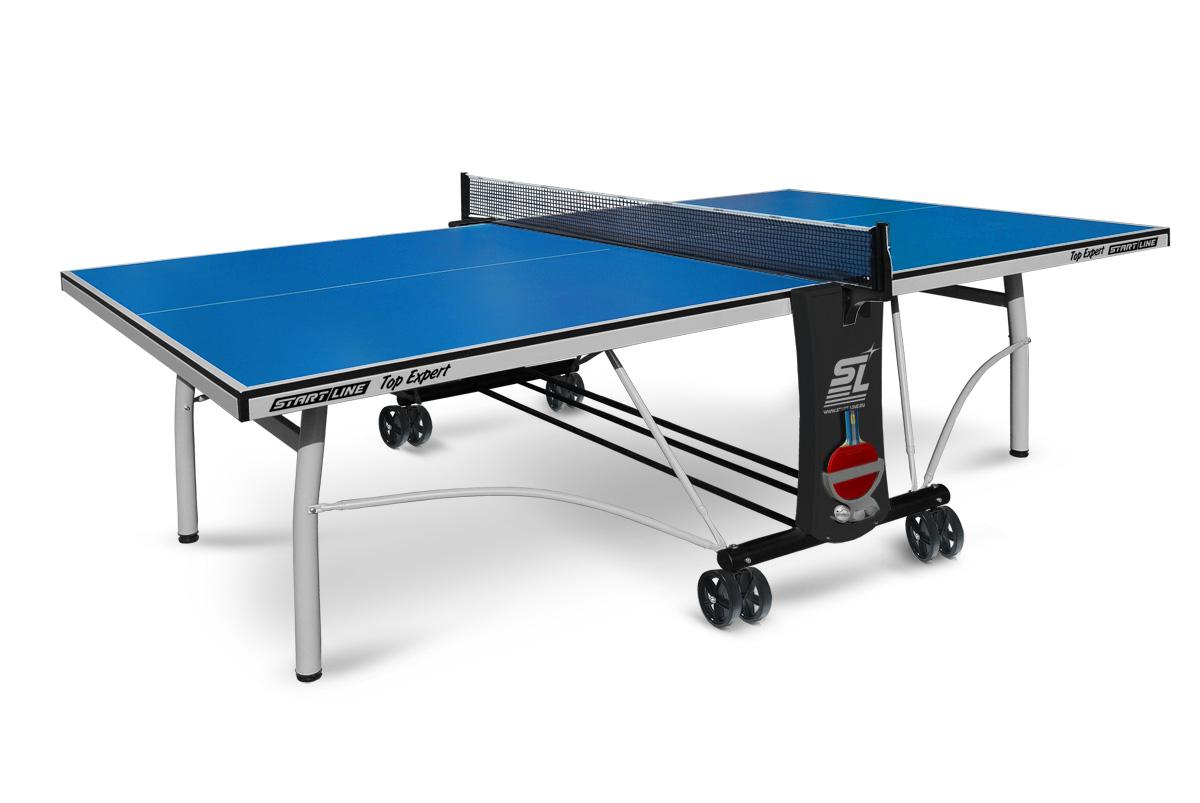 Top Expert  - топовая модель теннисного стола для помещений. Уникальный механизм складывания