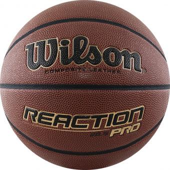 Мяч баскетбольный WILSON Reaction PRO (размер 5)